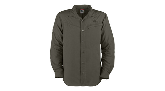 The North Face Men's L/S Sequoia Shirt grey